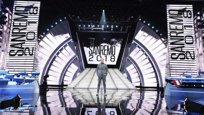 Scenografia Sanremo 2018
