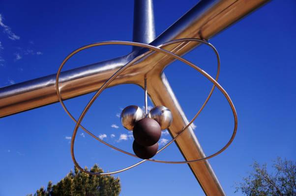 Immagine dell'Helium Time Columns Monument ad Amarillo, Texas