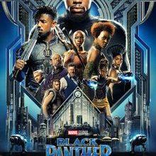 La locandina del film Black Panther