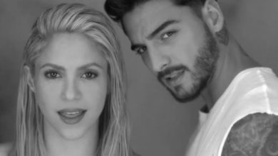 Foto di Shakira e Maluma nel video di Trap
