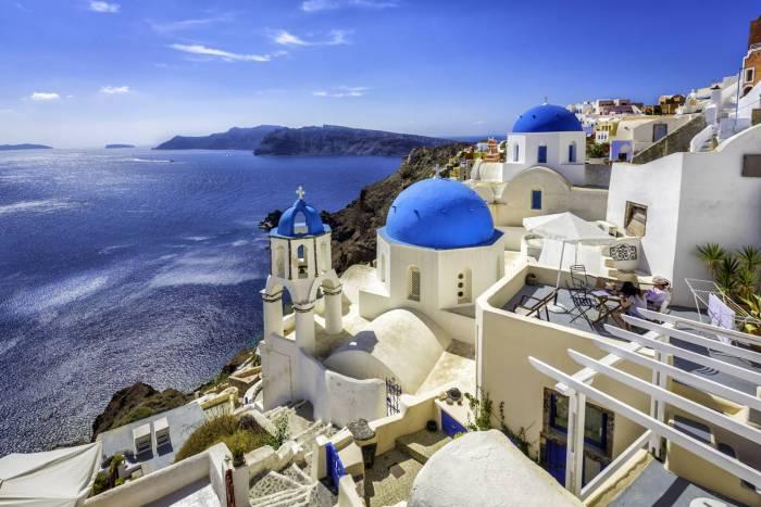 Santoini Grecia