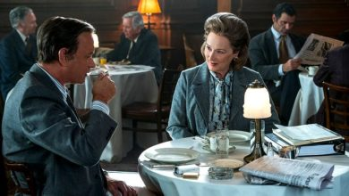 Tom Hanks e Meryl Streep in The Post