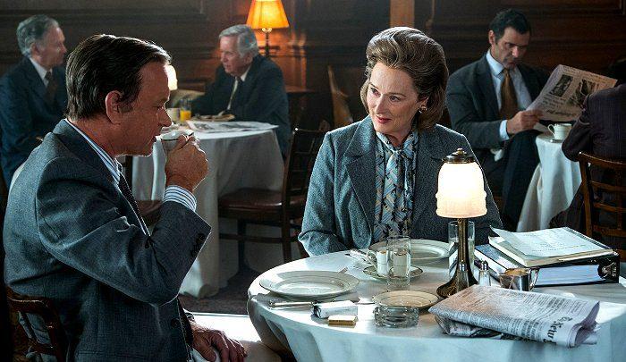 Tom Hanks e Meryl Streep in The Post