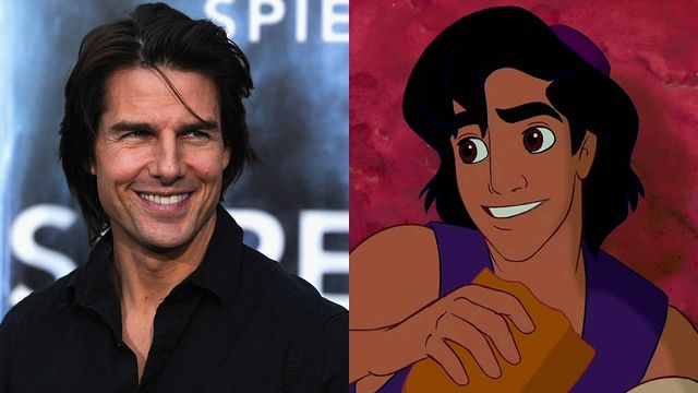 Aladdin e Tom Cruise