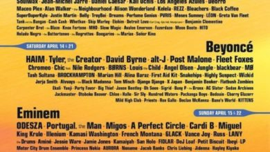 Coachella 2018 lista cantanti