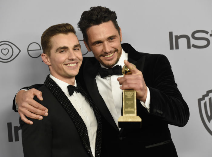 James Franco vincente ai Golden Globes 2018