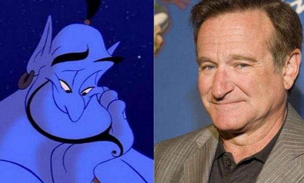 Robin Williams- Genio di  Aladdin