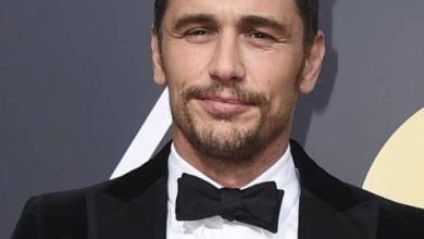 Immagine di James Franco ai Golden Globes 2018
