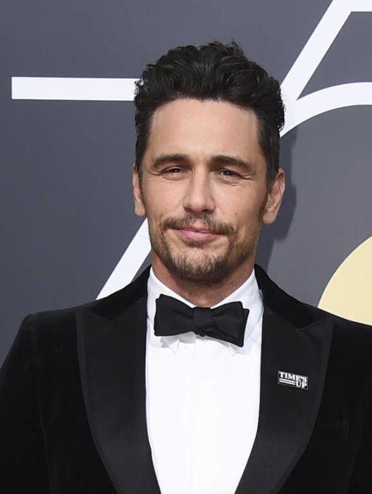 Immagine di James Franco ai Golden Globes 2018