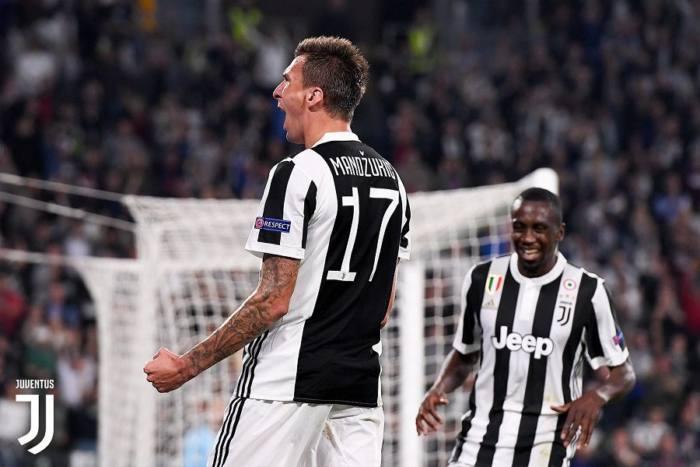 Mandzukuc esulta dopo il gol siglato nel derby di Coppa Italia, il 3 gennaio. Credits Juventus.