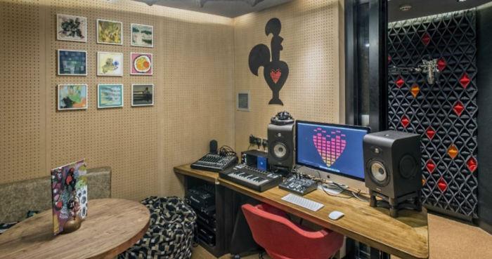 studio di registrazione di Nando's