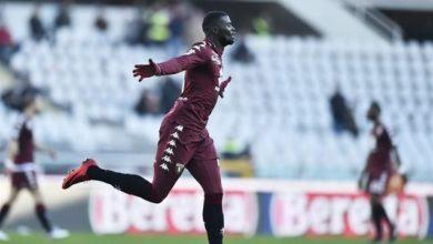 Niang esulta dopo il gol siglato contro il Benevento, il 28 gennaio.