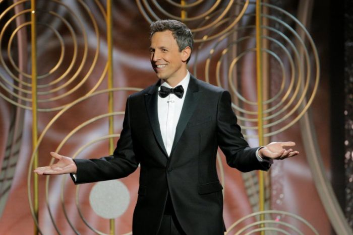 Seth Meyers apre la serata dei Golden Globes