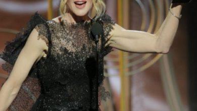 Nicole Kidman durante i Golden Globes