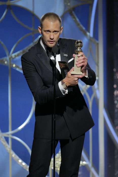 Alexander Skarsgaard ai Golden Globes
