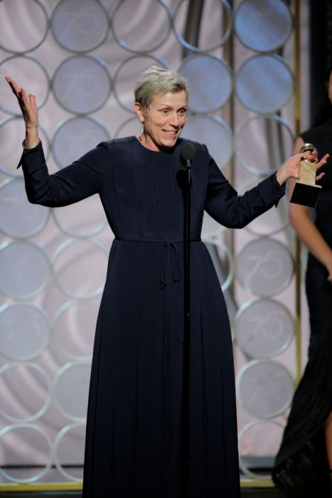 Frances McDormand Golden Globes