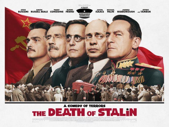 locandina del film La morte di Stalin