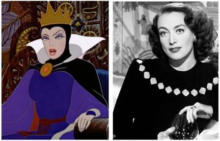 La Regina Cattiva di Bianca Neve e Joan Crawford