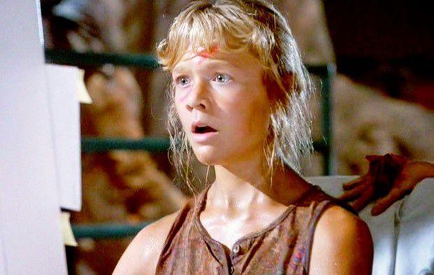 "Ariana Richards nel film ""Jurassic Park"""