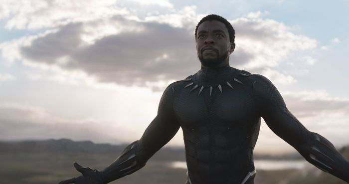 finale Avengers: Endgame - Chadwick Boseman in Black Panther