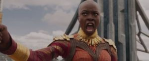 Black Panther Recensione - Danai Gurira in Black Panther