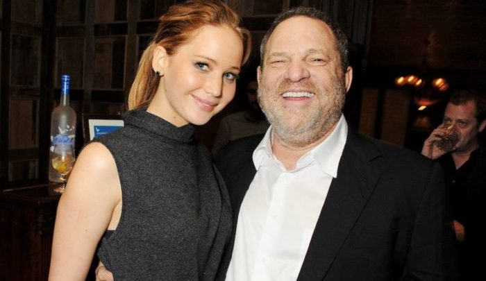 Weinstein e Jennifer Lawrence