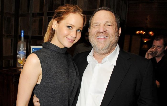 Weinstein e Jennifer Lawrence