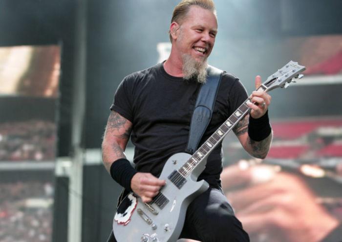 James Hetfield, leader dei Metallica