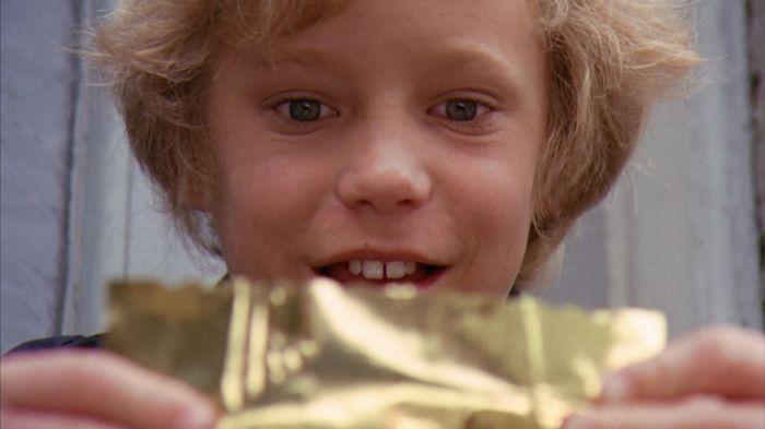 """Peter Ostrum nel film del 1971 """"Willy Wonka e la fabbrica di cioccolato"""""""