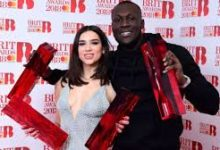brit awards 2018 foto Dua Lipa