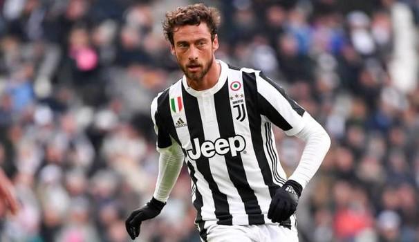 Claudio Marchisio in azione contro il Sassuolo, il 4 febbraio.