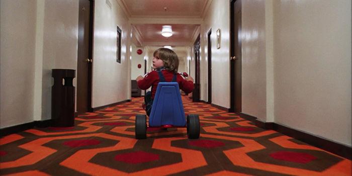"""Una scena del film """"The Shining"""""""