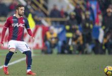 Di Franceso, fresco di convocazione per lo stage azzurro, in azione con la maglia del Bologna.