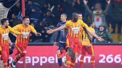 Diabatè esulta dopo il gol del 3-2 ai danni del Crotone, il 18 febbraio.