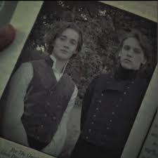 Immagine di Albus e Gellert da giovani