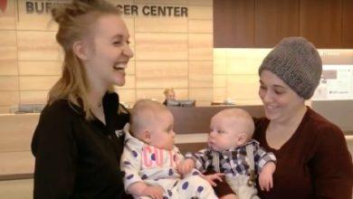 infermiera gesto incredibile madre malata di cancro