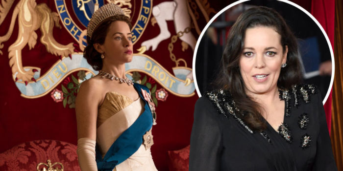 olivia colman claire foy the crown