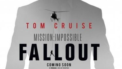 "Poster ufficiale di ""Mission: Impossible - Fallout"""