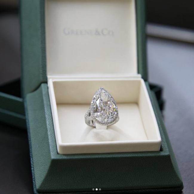 L'anello di Paris Hilton da 20 carati