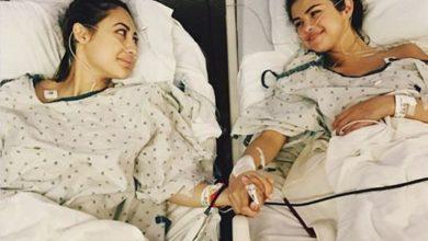 Francia Raisa e Selena Gomez foto trapianto