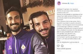 Riccardo Saponara ha dedicato una lettera struggente al suo capitano: Davide Astori.