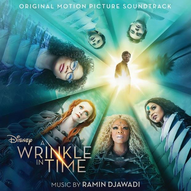 nelle pieghe del tempo colonna sonora copertina