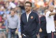 Eusebio Di Francesco, tecnico della Roma, si prepara al doppio impegno contro il Barca
