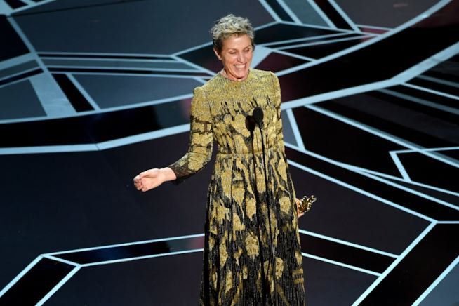 Frances McDormand Oscar 2018
