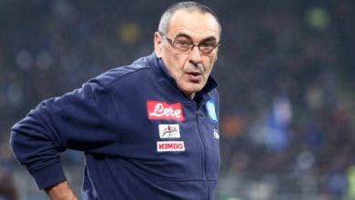 """Maurizio Sarri ha ricevuto il """"Premio Maestrelli"""" come miglior allenatore dell'anno."""