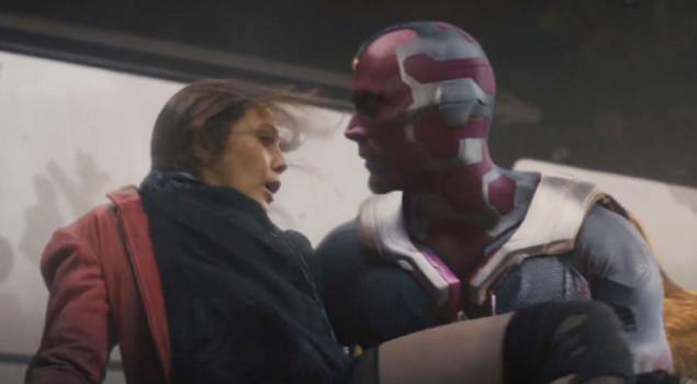 Avengers: infinity war, wanda e visione