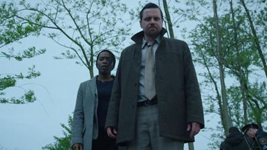 Clare-Hope Ashitey e Michael Mosley in Seven Seconds.