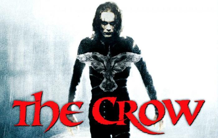 copertina del film The Crow