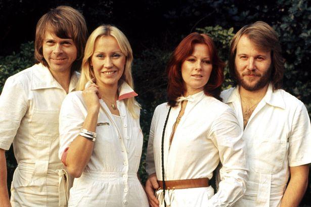 foto della band ABBA
