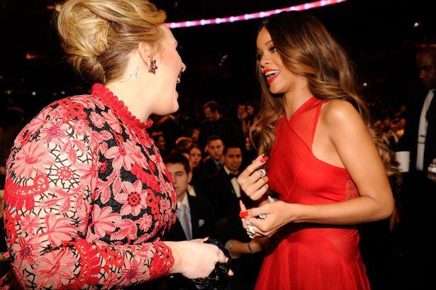 Adele e Rihanna